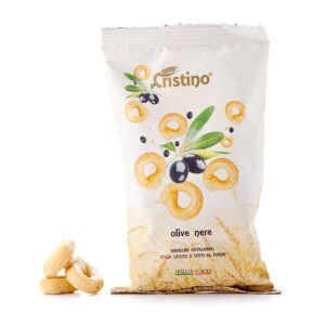 taralli olive nere snack cristino snacks