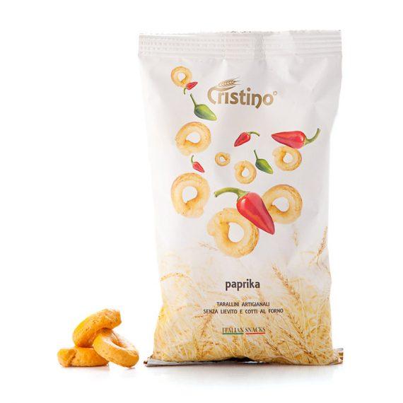 taralli paprika snack cristino snacks