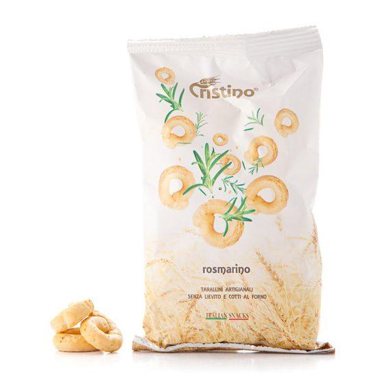 taralli rosmarino snack cristino snacks