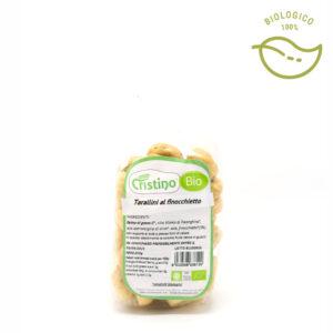 taralli e snack al finocchietto biologici