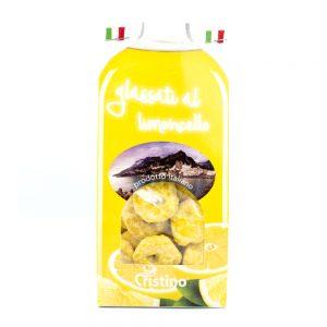Taralli dolci zuccherati al limoncello
